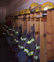 Free Firemans Lockers Stock Image - 9566991