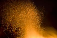 Free Fire Sparks Stock Photo - 9568110