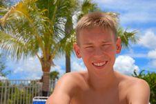 Teenager Looking At Camera Royalty Free Stock Image