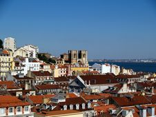 Free Lisbon Rooftops. Royalty Free Stock Photography - 9569887