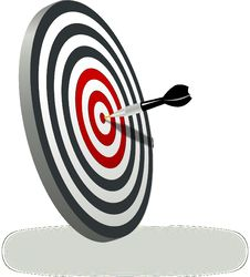 Free Target Archery, Line, Product Design, Dart Stock Photography - 95611142