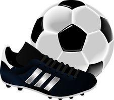 Free Sports Equipment, Football, Shoe, Ball Stock Photography - 95611382