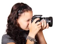 Free Photographer, Microphone, Single Lens Reflex Camera, Cameras & Optics Royalty Free Stock Photos - 95611558