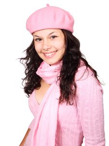 Free Pink, Headgear, Hat, Hair Coloring Royalty Free Stock Image - 95613036