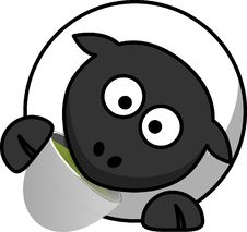 Free Black, Cartoon, Nose, Black And White Stock Images - 95614024