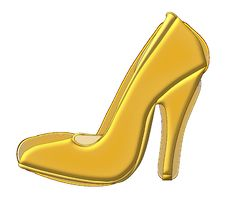 Free Footwear, High Heeled Footwear, Yellow, Shoe Stock Photo - 95615290