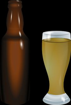 Free Beer Glass, Bottle, Beer Bottle, Pint Glass Royalty Free Stock Photography - 95616207