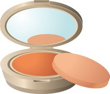 Free Face Powder, Orange, Cosmetics, Peach Royalty Free Stock Image - 95616976