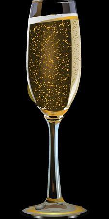 Free Champagne Stemware, Stemware, Wine Glass, Beer Glass Royalty Free Stock Image - 95617686