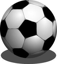 Free Football, Black And White, Ball, Sports Equipment Stock Photos - 95617703