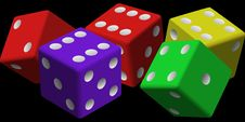Free Dice, Games, Dice Game, Product Stock Images - 95618354