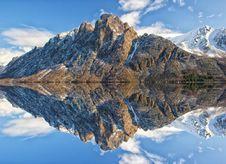 Free Reflection, Mountain, Mountainous Landforms, Mountain Range Royalty Free Stock Photo - 95619565