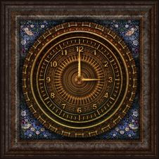 Free Clock, Circle, Pattern, Symmetry Royalty Free Stock Image - 95619946