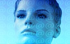 Free Face, Blue, Nose, Head Royalty Free Stock Image - 95621316