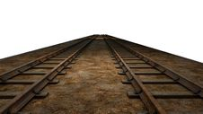 Free Track, Wood, Sky, Rail Transport Royalty Free Stock Photos - 95621418