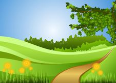 Free Nature, Green, Grassland, Ecosystem Royalty Free Stock Photography - 95621587