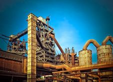 Free Industry, Sky, Construction, Amusement Park Royalty Free Stock Image - 95622216