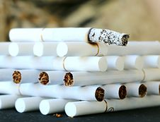 Free Cigarette, Tobacco Products, Smoking Cessation Stock Image - 95622661