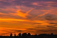 Free Sky, Afterglow, Red Sky At Morning, Dawn Royalty Free Stock Photography - 95623947