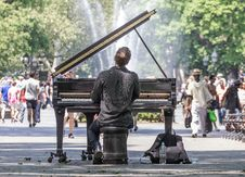 Free Road, Street, Musician, Car Royalty Free Stock Image - 95627016