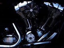 Free Black Motorcycle Engine Stock Image - 95644001