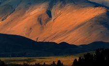 Free Last Light On The Two Thumb Range. Royalty Free Stock Photos - 95644238