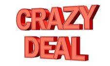 Free Crazy Deal Royalty Free Stock Image - 95644616