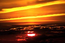 Free Sky, Afterglow, Red Sky At Morning, Sunset Royalty Free Stock Photography - 95658087