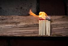 Free Heat, Flame, Wood, Fire Stock Photos - 95662013