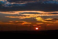 Free Sky, Afterglow, Horizon, Red Sky At Morning Stock Image - 95664671