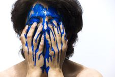 Free Blue, Hand, Human, Finger Stock Photography - 95665252