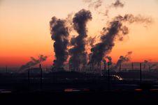 Free Sky, Smoke, Sunset, Cloud Royalty Free Stock Photo - 95667795