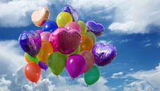 Free Balloon, Sky, Atmosphere Of Earth, Computer Wallpaper Royalty Free Stock Image - 95672916