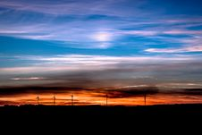 Free Sky, Afterglow, Horizon, Red Sky At Morning Royalty Free Stock Photography - 95672947