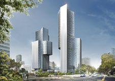 Free Metropolitan Area, Tower Block, Skyscraper, Metropolis Royalty Free Stock Photos - 95678938
