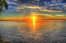 Free Horizon, Sky, Sunset, Reflection Royalty Free Stock Photo - 95679175