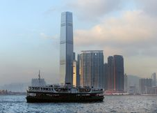Free Hong Kong International Commerce Centre. Stock Photo - 95697610