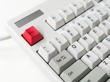 Free Close-up Of Computer Keyboard Stock Images - 95697624