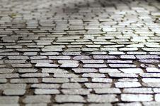 Free Sett Stones On Street Stock Image - 95697731