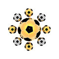 Free Soccer Balls Royalty Free Stock Photography - 9571737