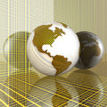 Free 3d Earth Royalty Free Stock Image - 9572086