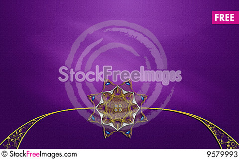 Free Photo Background  Fractal Layout Design Stock Photos - 9579993