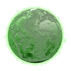 Free Green Earth Royalty Free Stock Image - 9570266