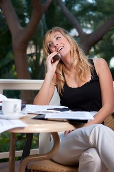 Free Woman Work Stock Photography - 9571502