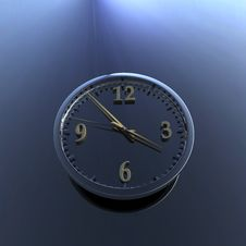 Free Wall Clock Royalty Free Stock Photography - 9571667