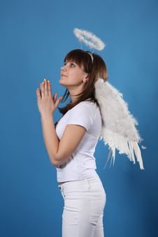 Free The Girl An Angel Stock Photography - 9572212