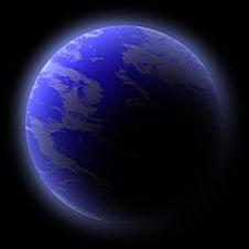 Free Blue Planet Stock Photo - 9572370