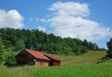 Free Mountain Chalet Royalty Free Stock Photos - 9572498