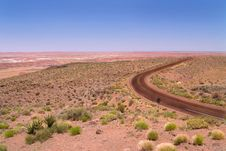 Free Desert Highway Royalty Free Stock Image - 9572806