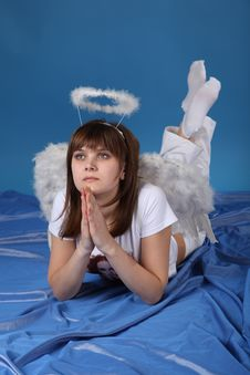 Free The Girl An Angel Stock Photo - 9572840